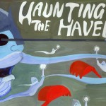 Poster for haunting the haven action at Halloween 2013
