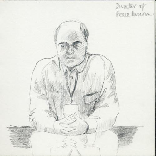 portrait 4 director of peace museum