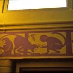 Emily Johns_school library_monkeys paper cut
